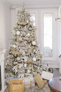 Beautiful, Ideas, To, Deck, Up, Your, Frosted, Christmas, Tree