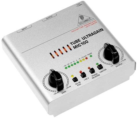 Behringer Mic Tube Ultragain Microphone Preamp With