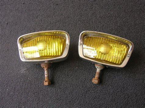 buy bosch yellow foglights fog lights lamps porsche  vw split oval mercedes sl motorcycle