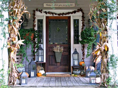 fall front porch what do you think of this fall front porch the home touches