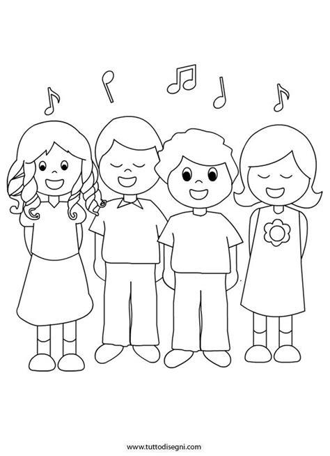 tabella colori per bambini bambini che cantano da colorare tutto disegni