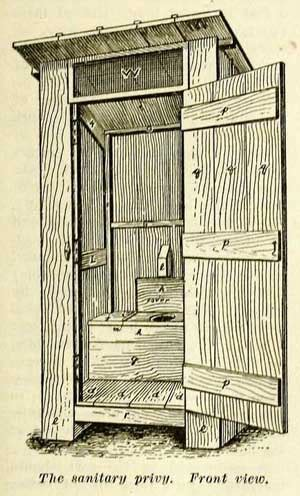 build  outhouse   plans mother earth news