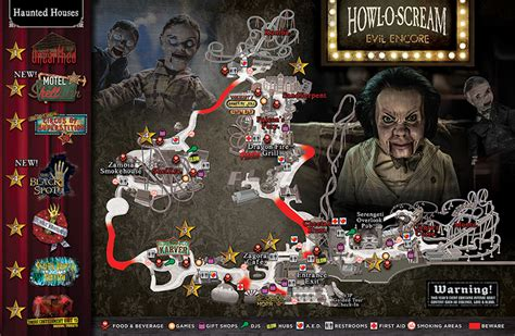 howl o scream event map busch gardens ta bay