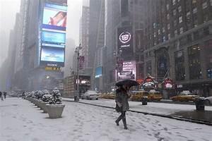 Weather Journal  New York U2019s Night Of The Thundersnow