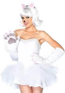white cat costume white cat paw costume accessory gloves amiclubwear