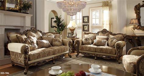 Ivory Bed Bag Luxury 7 Homey Design 7 Pc Italian Style Traditional Living Room Set Ebay