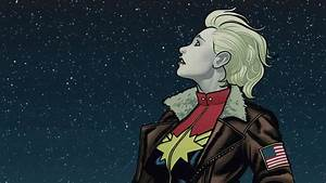 First Look At Captain Marvel Movie Costume Revealed In Set ...