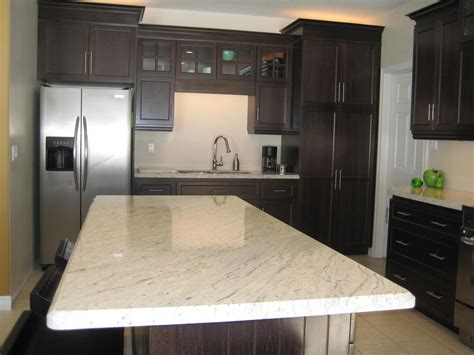 Cabinets Interior by White Granite As Interior Material For Futuristic