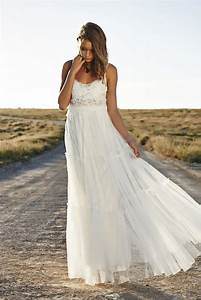 aliexpresscom acheter 2015 dentelle boheme robe de With robe blanche dentelle boheme