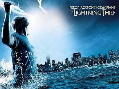 Percy Jackson Wallpapers Thief Olympians Lightning Desktop
