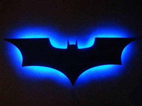 batman light up wall batman logo led wall light light