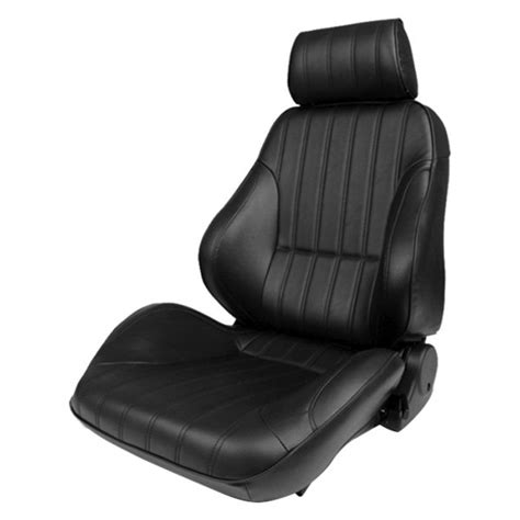 procar 174 80 8000 51 leather black leather replacement seat