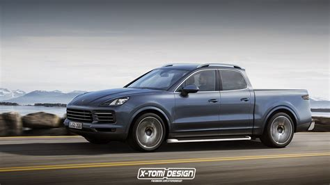 porsche pickup truck it had to be done new porsche cayenne imagined as a