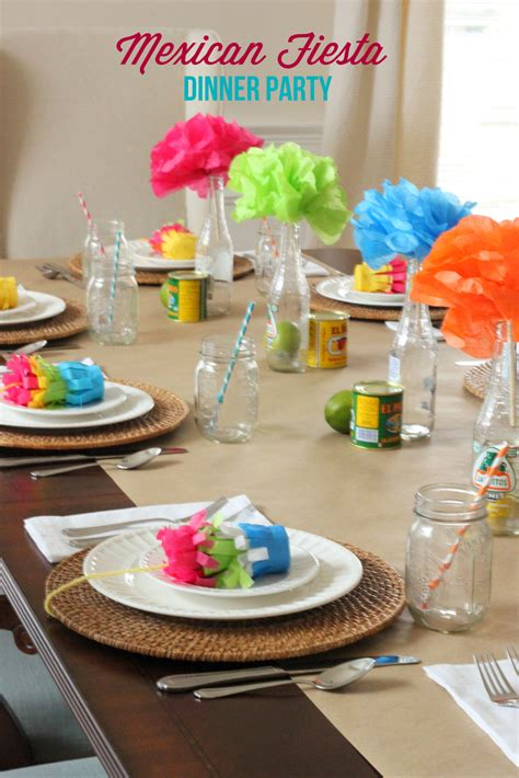 {dinner Party Ideas}  Mexican Fiesta Party Mirabelle