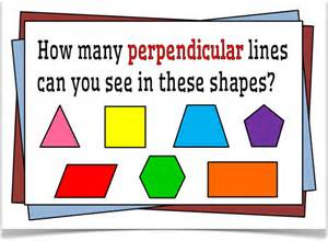 Shapes with Parallel and Perpendicular Lines