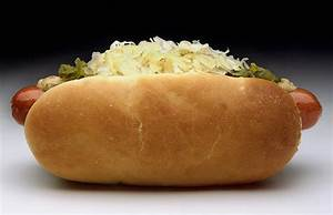 Sauerkraut Hot Dog Topping Recipe