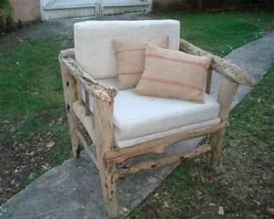 Fabriquer Un Fauteuil : un fauteuil en bois flott ~ Zukunftsfamilie.com Idées de Décoration