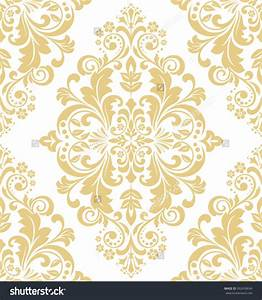 White And Gold Wallpaper