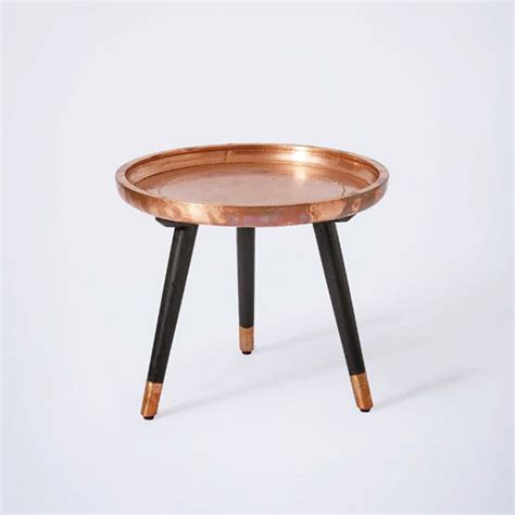 copper side table property find buy
