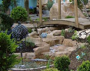 Gartenteich Mit Bachlauf : felsdekor gartenteich anlage bachlauf gro 10 tlg sand artjardin ~ Buech-reservation.com Haus und Dekorationen