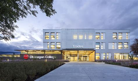 colleges green buildings earn gold okanagan life magazine