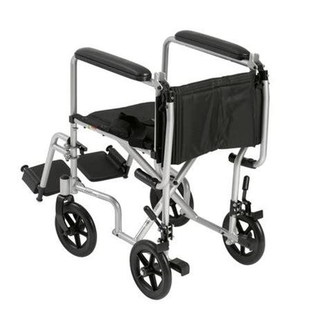 Transport Chairs Lightweight Walmart by Drive 17 Inch Lightweight Transport Wheelchair