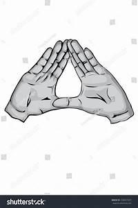Illuminati Hands Stock Vector 238437427 - Shutterstock