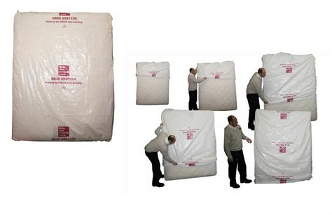 Polythene Plastic Double King Mattress Cover Protector Bag