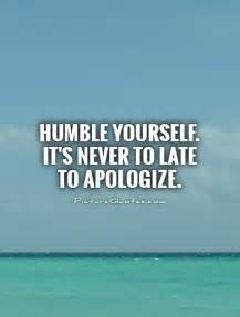 Humble Yourself Quotes