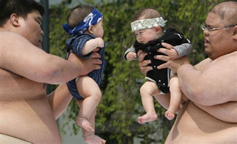 Baby Sumo Wrestling Latest Fad In Japan | Empire News