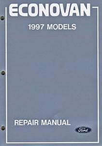 Ford Econovan  Jg  1997 Factory Repair Manual  3 Volume
