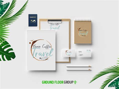 travel agency branding package travel agency logo
