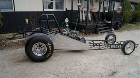23 T Bucket Altered / Funny Car Rolling Chassis