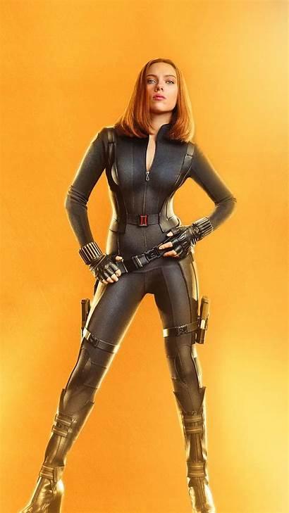 Widow Scarlett Johansson Avengers War Infinity Wallpapers