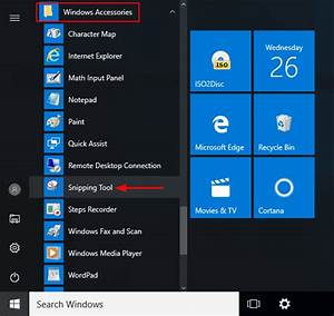 Quick Ways To Open Snipping Tool In Windows 10