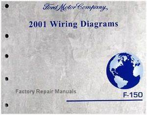 2001 Ford F150 Truck Electrical Wiring Diagrams Original
