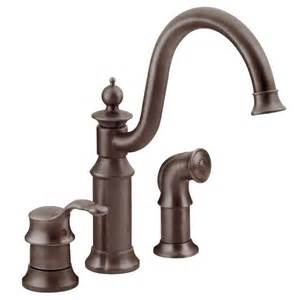 Oil Rubbed Bronze Faucets Canada by Waterhill Oil Rubbed Bronze One Handle High Arc Kitchen