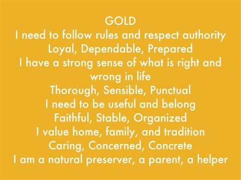 meaning of the color gold true colors by elizabeth banda