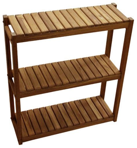 Tiered Shelves For Cabinets by 3 Tiered Shelf Planation Teak Bathroom Cabinets And