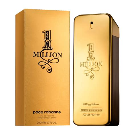 paco rabanne 1 million eau de toilette spray 200ml feelunique