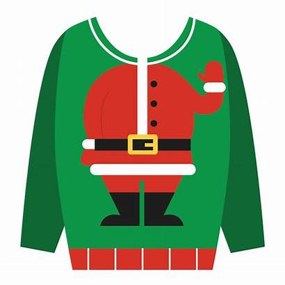 Sweater Clipart Ugly Jumper Cartoon Transparent Clip
