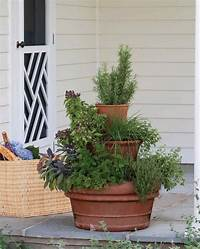 potted herb garden 10 Ways to Show Off Your Green Thumb With Cool DIY ...