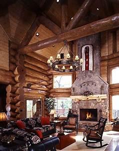 Photos of a Smoky Mountain Log Home