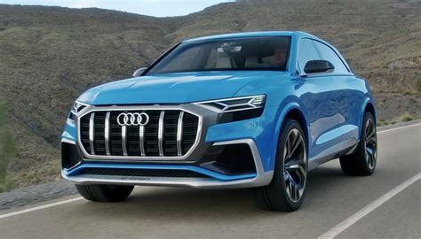 2019 Audi Q8 Review And Release Date  2018  2019 The