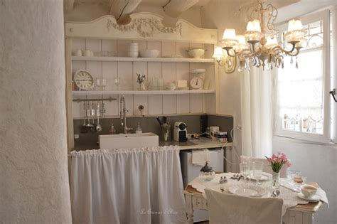 cuisine cagne chic le grenier d 39 shabby chic et romantique decor