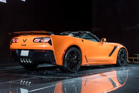 2019 Corvette Zr1 Convertible Revealed In Los Angeles