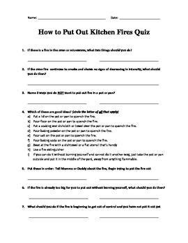 Kitchen How To Put Out 36 best images about safety education on