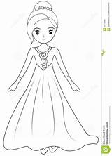 Coloring Gown Sleeve Pages Dresses Illustration Drawings Designlooter Dreamstime 1300px 88kb sketch template
