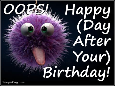Day After Birthday Meme - day after your birthday meme pictures to pin on pinterest pinsdaddy
