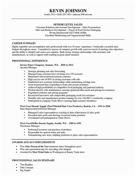 Outside Sales Resume by Best 25 Best Resume Template Ideas Only On